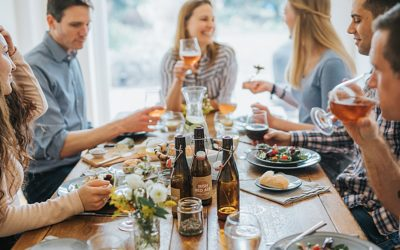Dinner with friends | Homebrewtique | St Albans commercial photographer